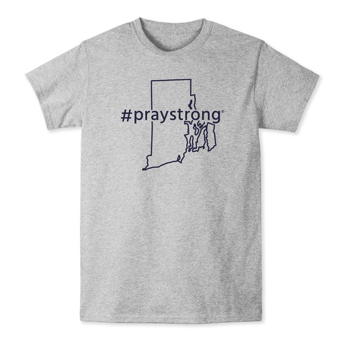 Rhode Island #PrayStrong Tshirt