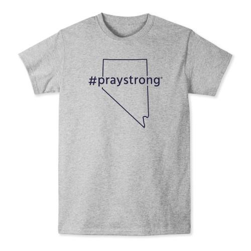 Nevada #Praystrong T-shirt