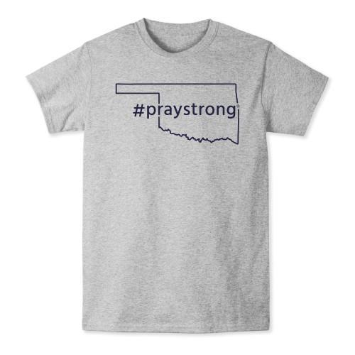 Oklahoma #Praystrong T-shirt