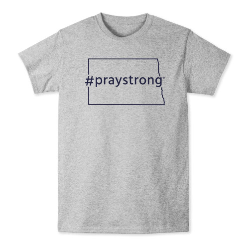 North Dakota #PrayStrong T-shirt