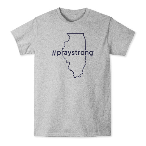 Illinois #Praystrong T-shirt