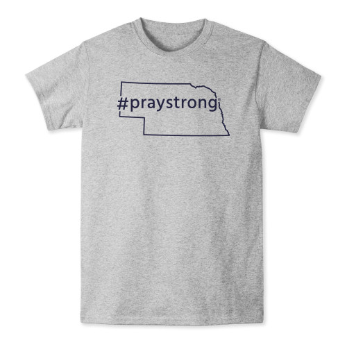 Nebraska #PrayStrong T-shirt