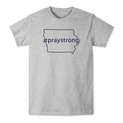 Iowa #Praystrong T-shirt
