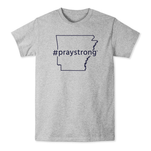 Arkansas #Praystrong T-shirt