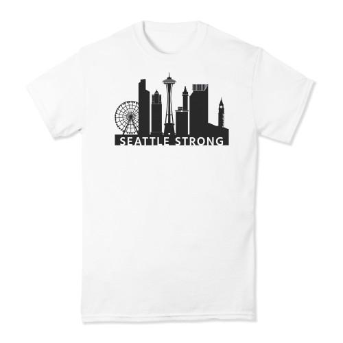 PrayStrong Seattle Strong Short Sleeve T-shirt