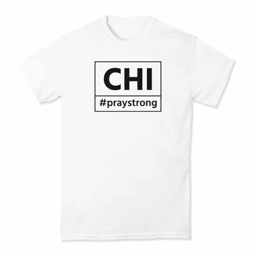 CHI #PrayStrong T-shirt