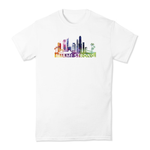 Miami Strong Watercolor T-shirt