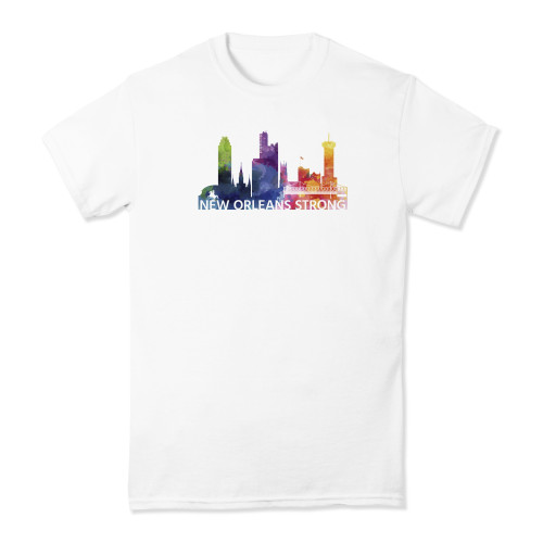 New Orleans Strong Watercolor T-shirt