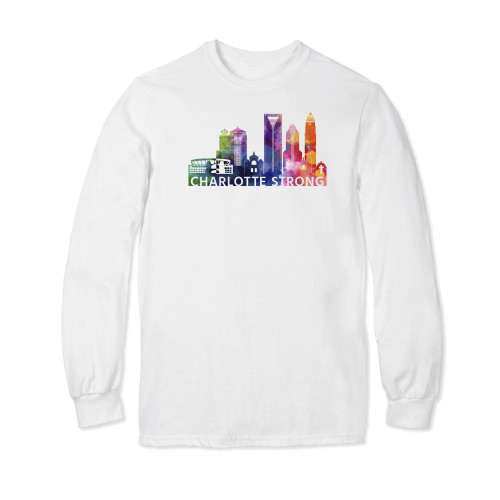 Charlotte Strong Watercolor Long Sleeve T-shirt