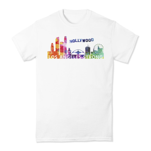 Los Angeles Strong Watercolor T-shirt
