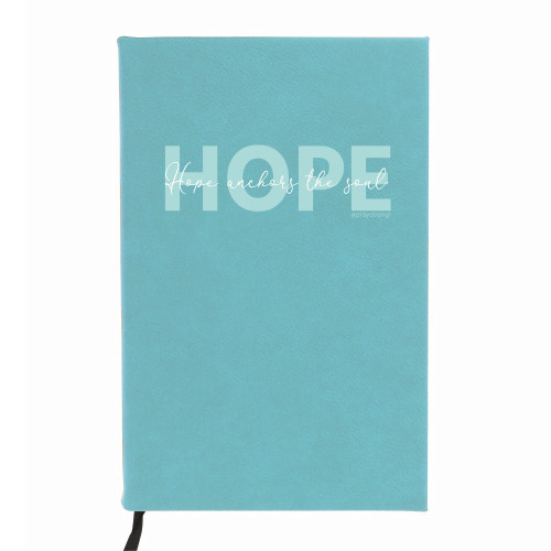 Personalized PrayStrong Hope Word Overly Journal