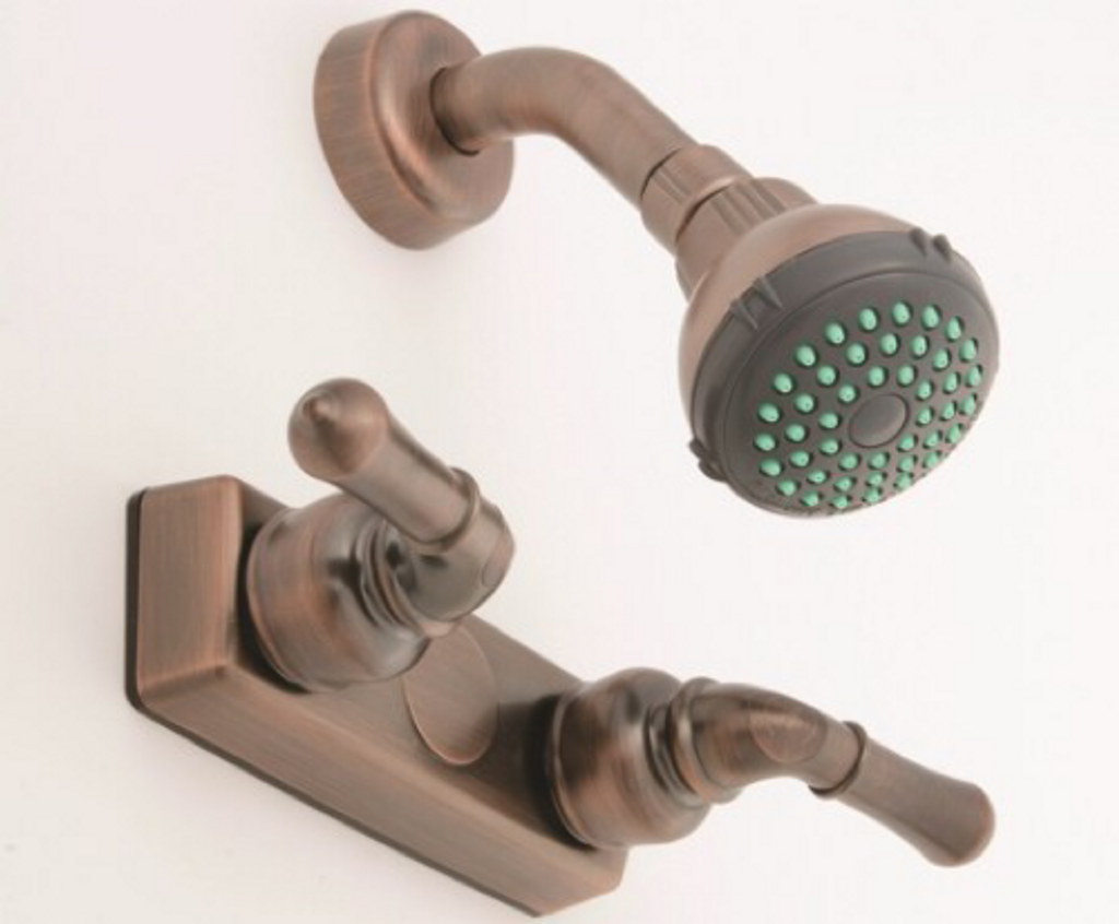 Empire 4 Oil Rubbed Bronze Shower Faucet With Lever Handles