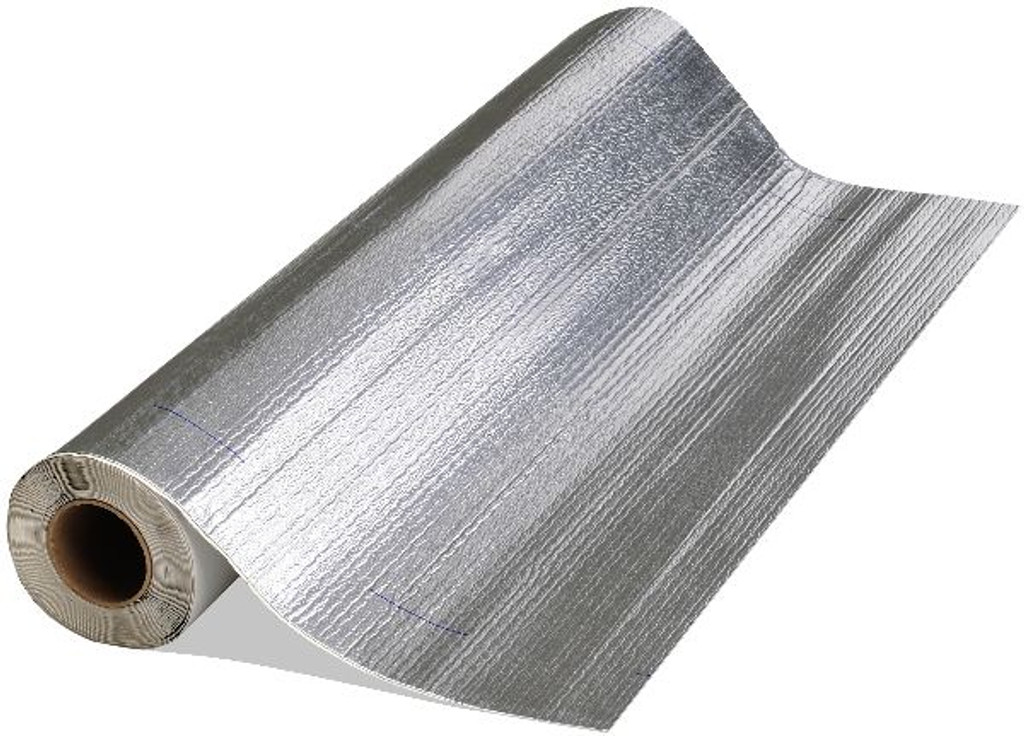 "Peel & Seal 36"" x 33.5' Aluminum Self-Sticking Roll Roofing"