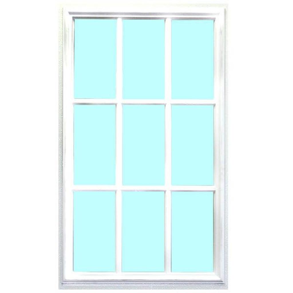 """20"""" x 36"""" Cottage Window For Exterior Doors"""
