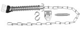 Exterior Door Safety Chain Kit
