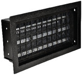 Black Automatic Crawl Space Foundation Vents