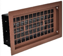 Brown Automatic Crawl Space Foundation Vents