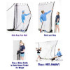Zip Net Indoor Hitting Net How To Use