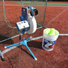 Changeup Super Softball Pitching Machine with Bucket of Balls and Safety Net