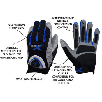 XLR8 Speed Batting Gloves