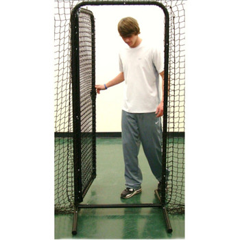 Batting Cage Door Open