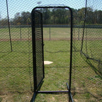 Batting Cage Door Open Outside
