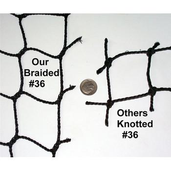 Batting Cage Net - Muhl Braided