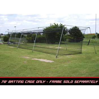 70x12x12 #36 Batting Cage Net - Cimarron