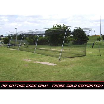70x14x12 #36 Batting Cage Net - Cimarron