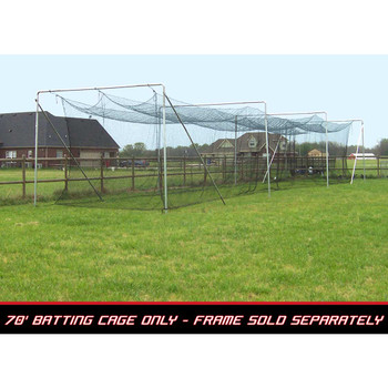 70x12x12 #42 Batting Cage Net - Cimarron