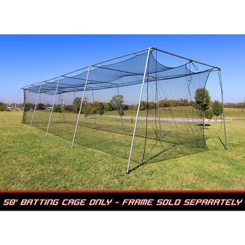 50x12x10 #24 Batting Cage Net - Cimarron