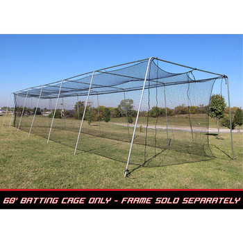 60x12x10 #24 Batting Cage Net - Cimarron