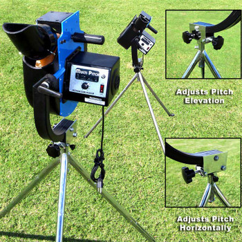 Cimarron Multi-Pitch II Pitching Machine All Features