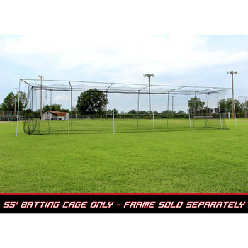 55x14x12 #24 Batting Cage Net - Cimarron