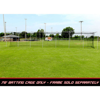 70x14x12 #24 Batting Cage Net - Cimarron