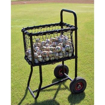 Pro Baseball Ball Cart Full