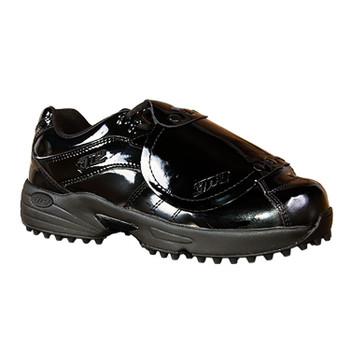 Patent Leather Reaction Pro Plate Lo Umpire Shoes by 3N2