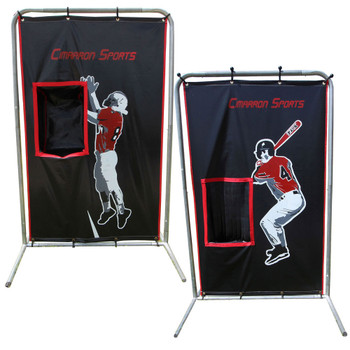 2-Sport Catcher 4x6 Backstop with Frame