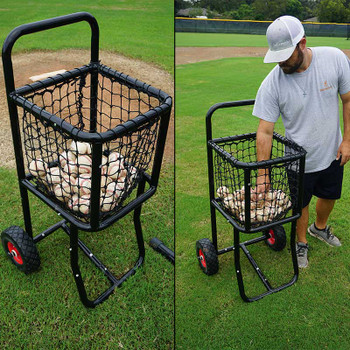 Pro Baseball Ball Cart - Medium