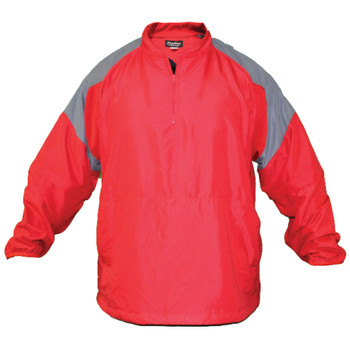 Batting Cage Jacket Long Sleeve Front