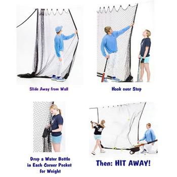 Zip Net Indoor Hitting Net How To Use