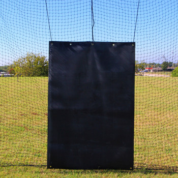 Batting Cage Backstop 4x6 Rubber