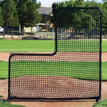 FallLine Portable Baseball Pitcher's L-Screen