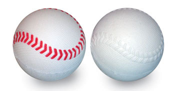 Small-Ball® Practice Baseballs in White