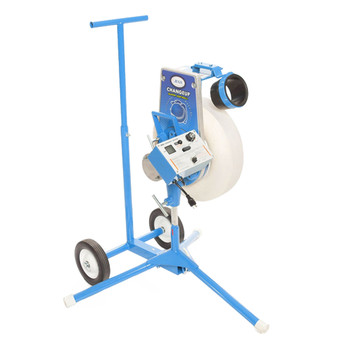 Changeup Super Softball Pitching Machine with Transport Cart