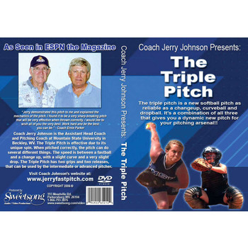 The Triple Pitch Fastpitch DVD by Jerry Johnson