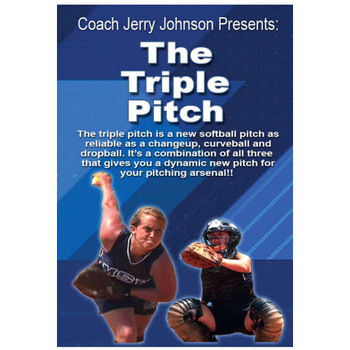 The Triple Pitch Fastpitch DVD Cover