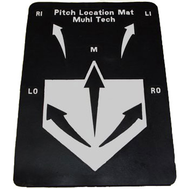 Pitch Location Mat in Rubber
