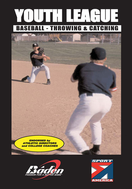 Youth League - Throwing & Catching DVD