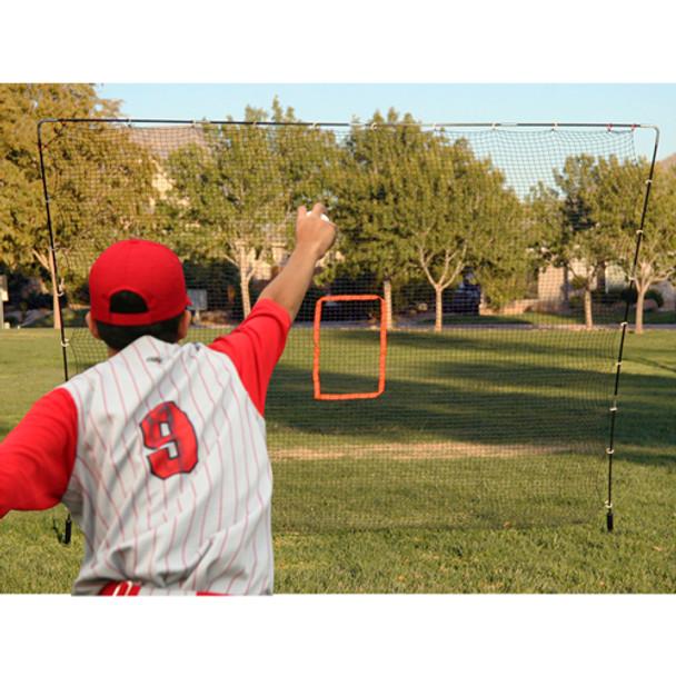 Big Play 7' x 8' Hitting & Pitching Sports Net - Pitching